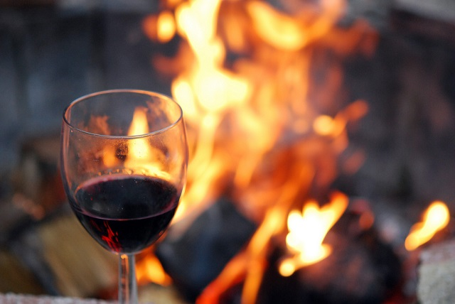 Bonfire-and-wine